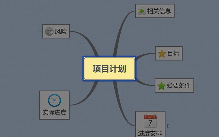 思维导图软件 XMind 8 Pro v3.7.9 中文破解版 甘特图