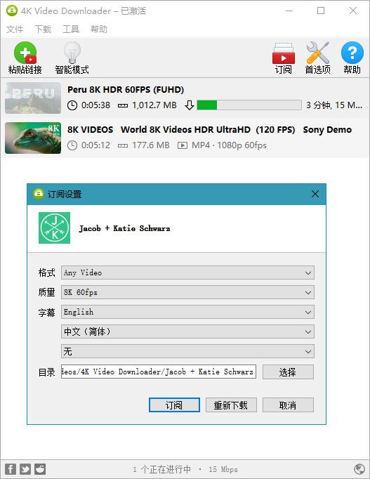 4K Video Downloader 4.15.0.4190 油管视频下载工具 下载工具