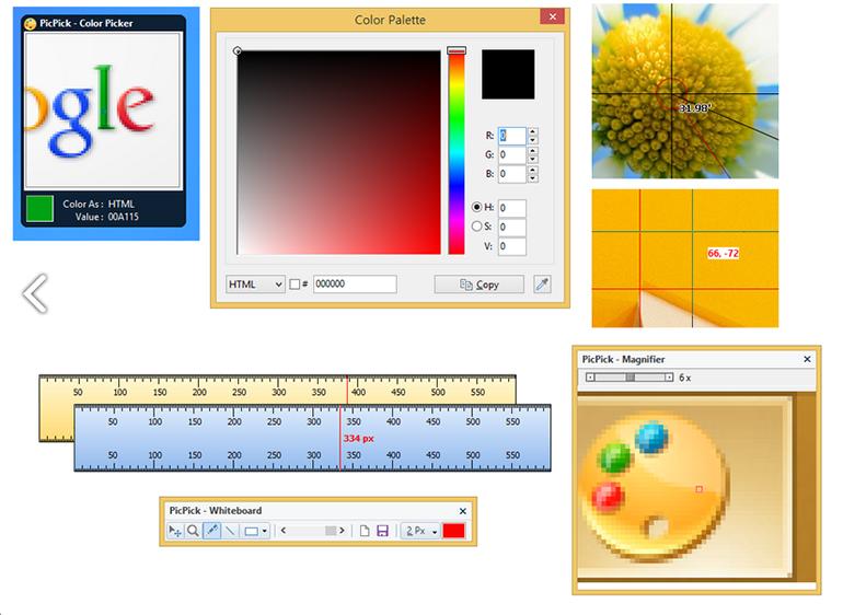 截图软件 PicPick v5.1.5 绿色版 绿色版