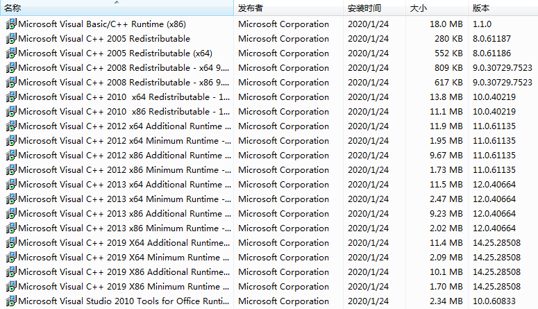 Microsoft Visual C++运行库合集包完整版2021年4月版 v46 C