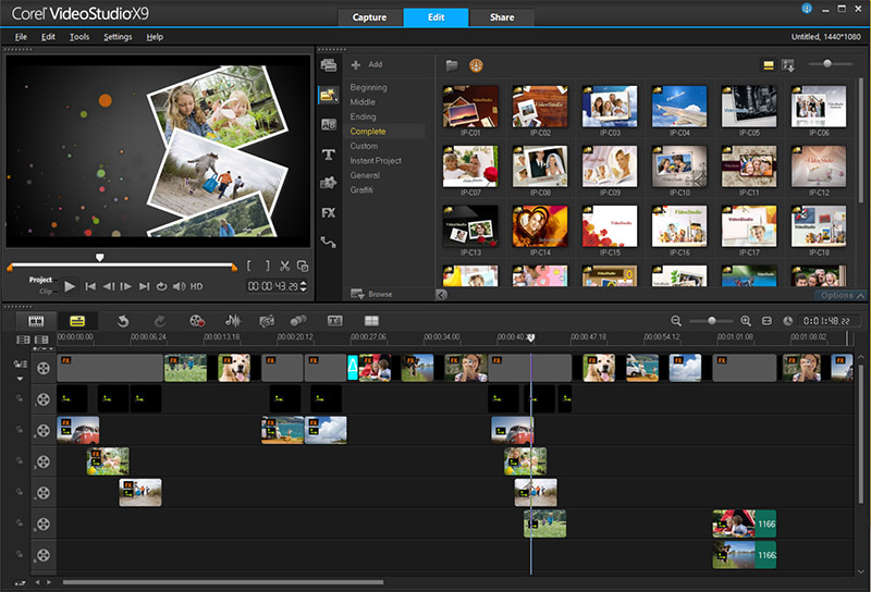 Corel VideoStudio X9 32位/64位注册版免费下载